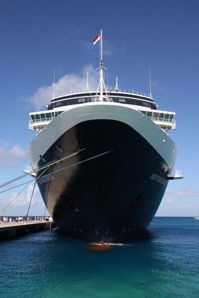 Photograph - Classic Cruise Ship by Arthur Dodd