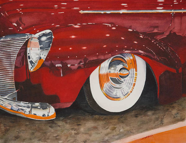 Painting - Classic Curves by Christopher Reid