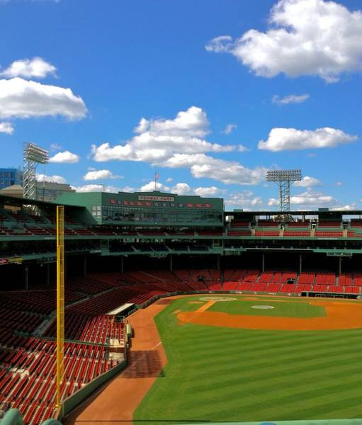 Photograph - Classic Fenway I  Fenway Park by Iconic Images Art Gallery David Pucciarelli
