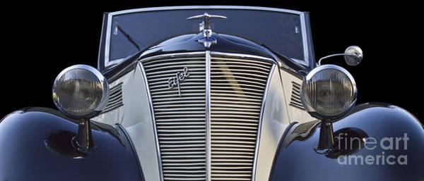 Photograph - Classic Ford Eifel Cabrio 1939 by Heiko Koehrer-Wagner