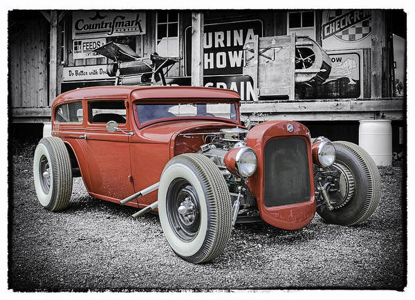 Street Racer Photograph - Classic Hot Rod by Thomas Young