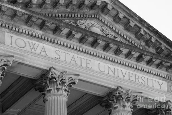 Classic Iowa State University Art Print