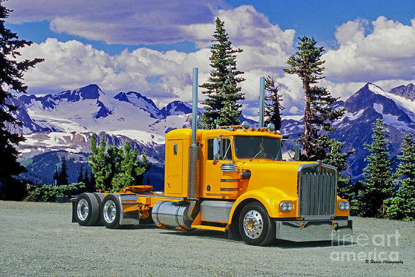 Wall Art - Photograph - Classic Kenworth by Randy Harris