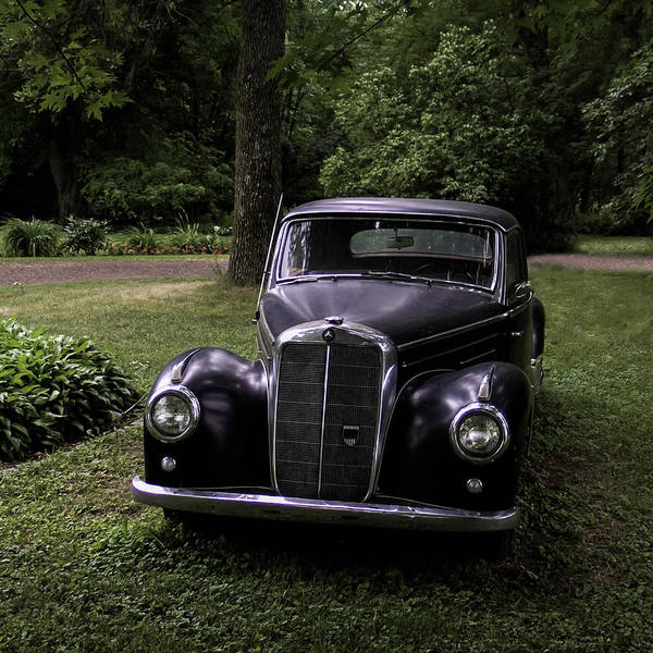 Photograph - Classic Mercedes Benz by Curtis Dale