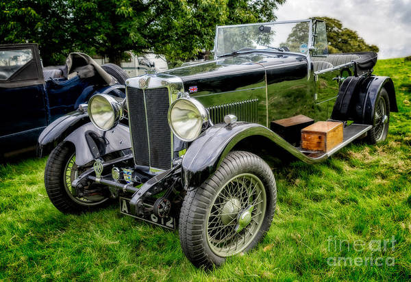 Box Car Photograph - Classic Mg by Adrian Evans