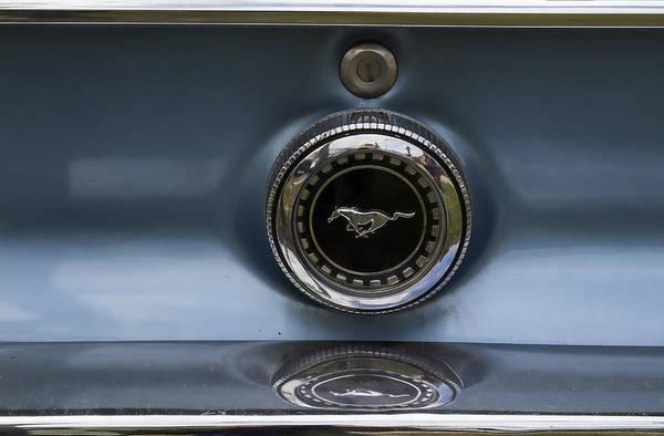Wall Art - Photograph - Classic Mustang Badge by Georgia Fowler