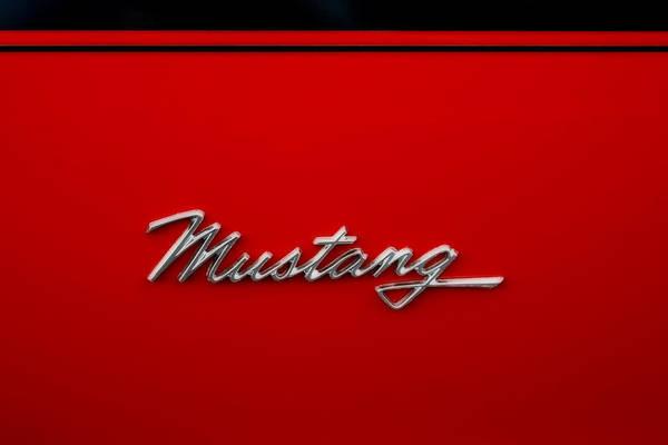 Classic Mustang Art Print