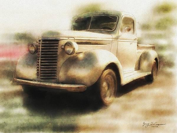 Painting - Classic Pickup by Gary De Capua