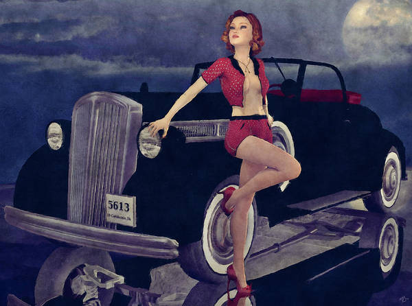Painting - Classic Style by Maynard Ellis