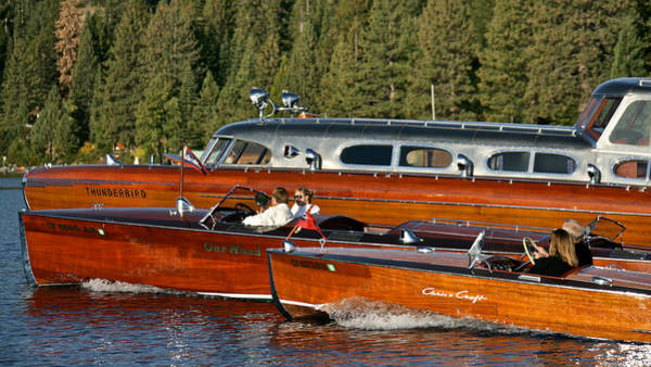 Photograph - Classic Tahoe Wooden Boats by Steven Lapkin