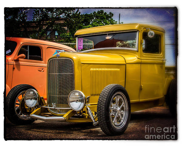 Wall Art - Photograph - Classic V8 Truck by Perry Webster