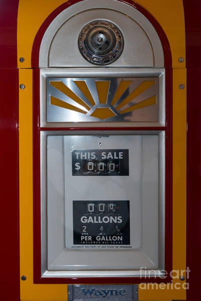 Photograph - Classic Vintage Wayne Gas Pump Dsc02716 by Wingsdomain Art and Photography