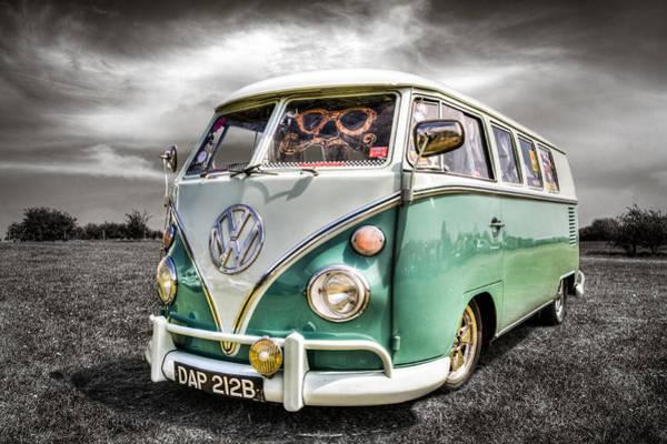 Campervan Photograph - Classic Vw Camper Van by Ian Hufton
