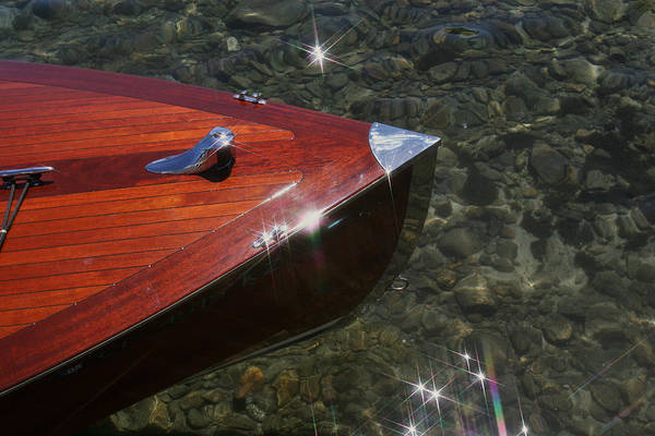 Photograph - Classic Wooden Runabout by Steven Lapkin