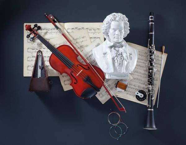 Clarinet Wall Art - Photograph - Classical Music Master Class by John Kuczala