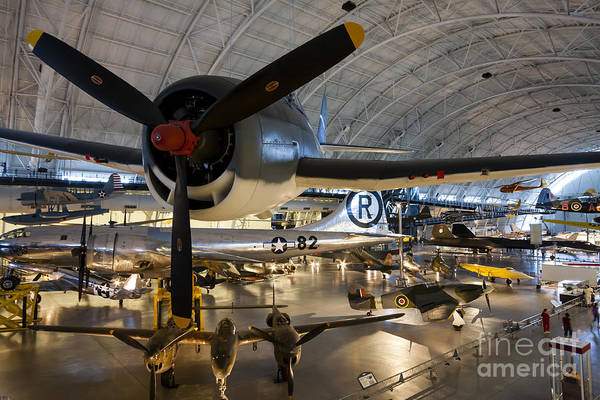 Museum Wall Art - Photograph - Classics At The Air And Space Udvar Hazy Museum by William Kuta
