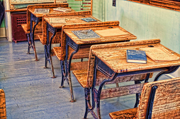Photograph - Classroom by Fran Riley