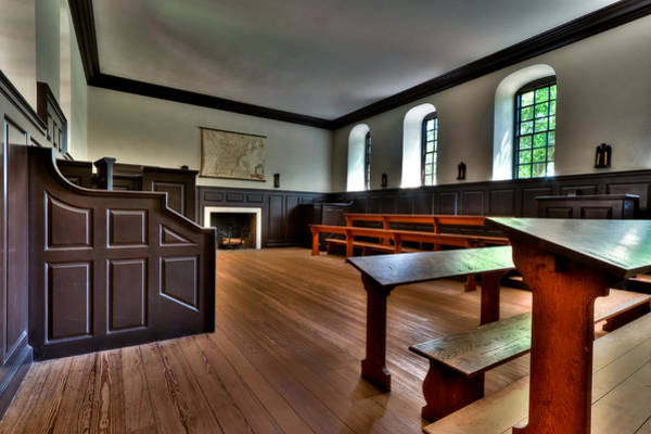 Photograph - Classroom Wren Building by Jerry Gammon