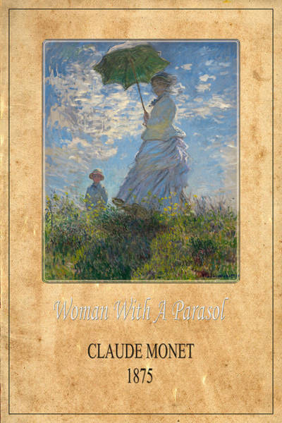 Photograph - Claude Monet 1 by Andrew Fare