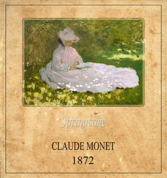 Photograph - Claude Monet 3 by Andrew Fare