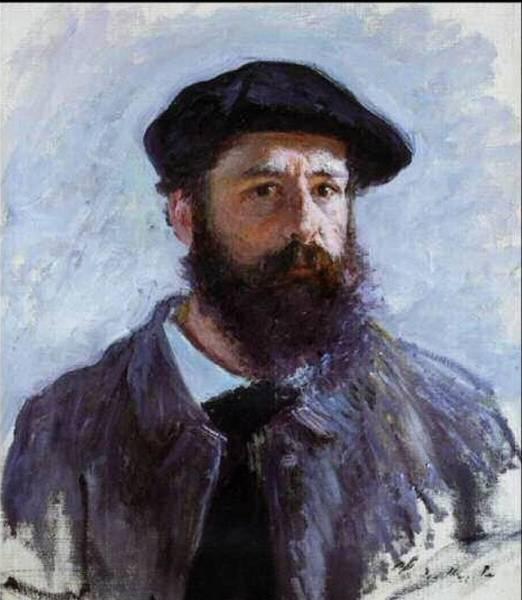 Claude Monet Self Portrait Art Print by Claude Monet - L Brown