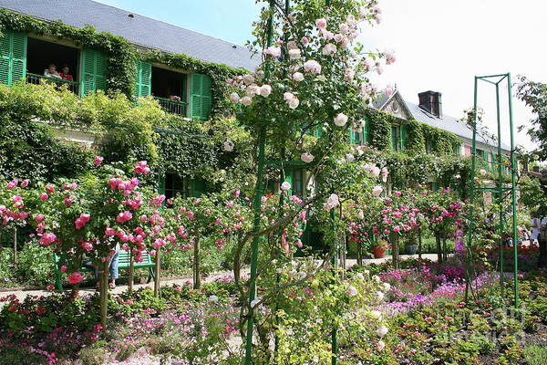 Claude Monet Photograph - Claude Monets House - Giverney by Christiane Schulze Art And Photography