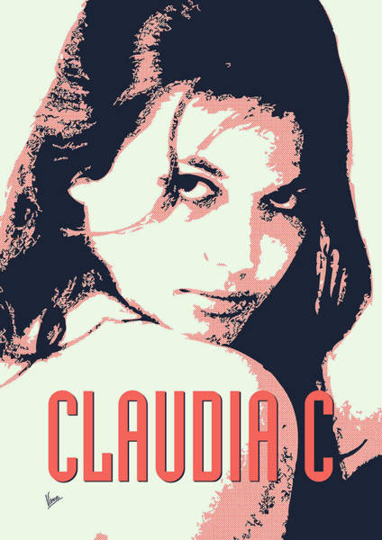 60s Digital Art - Claudia C by Chungkong Art