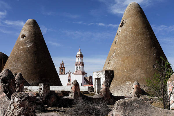 Clay Ovens For Baking The Mezcal Plant Art Print