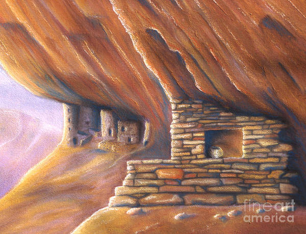 Adobe Walls Painting - Clay Pot by Jerry McElroy
