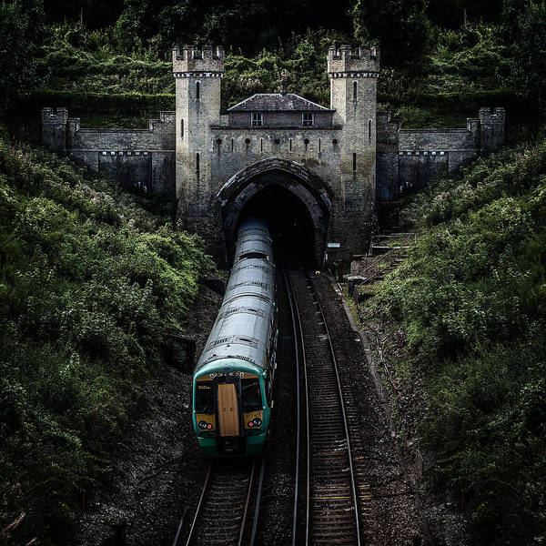 Photograph - Clayton Tunnel by Chris Lord