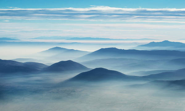 Mountain Range Photograph - Clean Air by Ivo Vuk