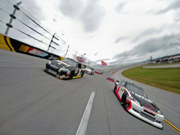Photograph - Clean Air Racing by Dennis Buckman