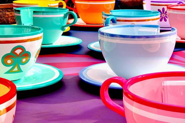 Disney World Photograph - Clean Cup Clean Cup Move Down by Benjamin Yeager