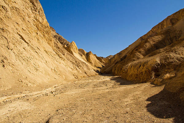 Death Valley Np Photograph - Clear Blue Skies by Kunal Mehra