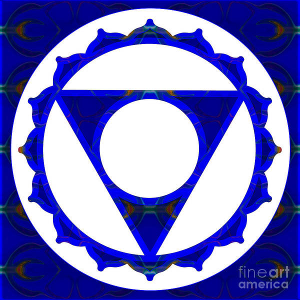 Digital Art - Clear Channels Of Blue Abstract Chakra Art By Omaste Witkowski by Omaste Witkowski