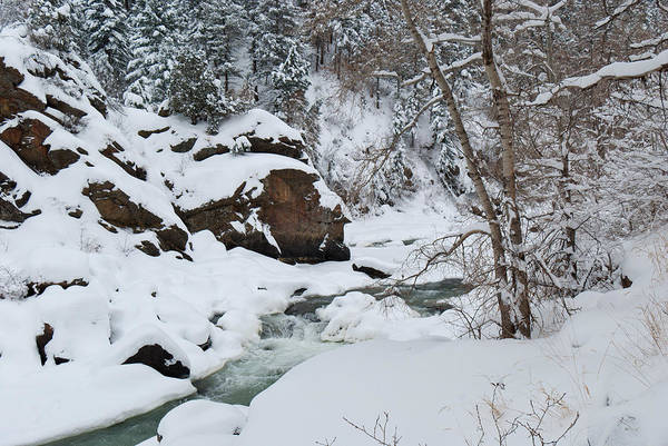 Photograph - Clear Creek Canyon Winter by Cascade Colors