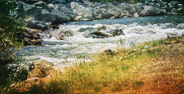 Photograph - Clear Creek by Judy Hall-Folde