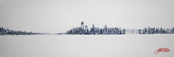 Painting - Clear Day 10x30 by Jack Diamond