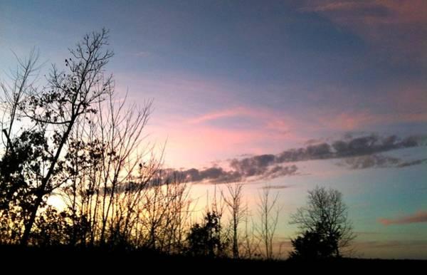 Clear Evening Sky Art Print