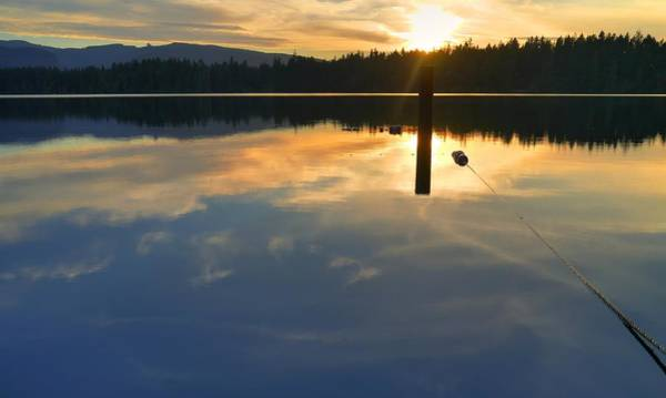 Wall Art - Photograph - Clear Lake Sunset by Peter Mooyman
