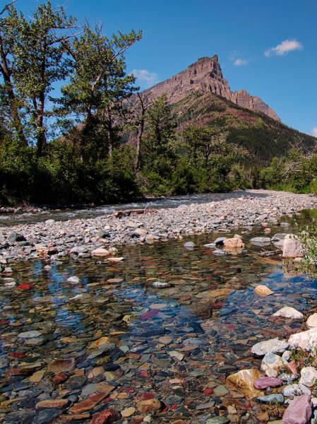 Wall Art - Photograph - Clear Rockey Mountain Creek by James Wheeler