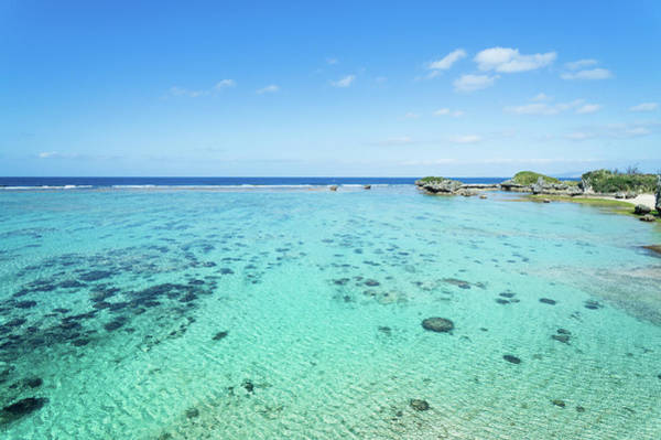 Okinawa Photograph - Clear Tropical Water Beach Of Coral by Ippei Naoi