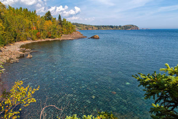 Photograph - Clear Waters Of Lake Superior by John M Bailey