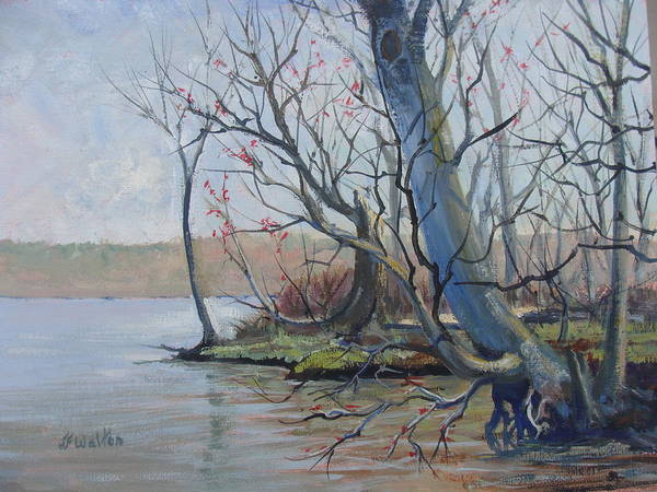 Painting - Clearfork Spring by Judy Fischer Walton