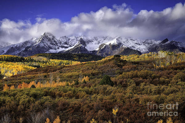 Clearing Storm At The Dallas Divide Art Print