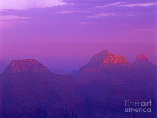 Photograph - Clearing Storm From North Rim Grand Canyon National Park by Dave Welling