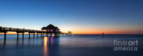 Wall Art - Photograph - Clearwater Beach Pier by Steven Reed