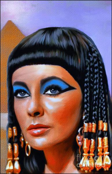Ancient Egypt Painting - Cleopatra  by Andrzej Szczerski
