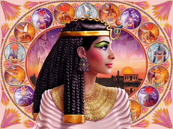 Andrew Farley Photograph - Cleopatra Variant 3 by MGL Meiklejohn Graphics Licensing