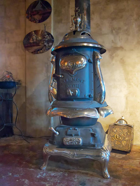 Photograph - Clermont No 136 Pot Belly Stove by Mary Lee Dereske